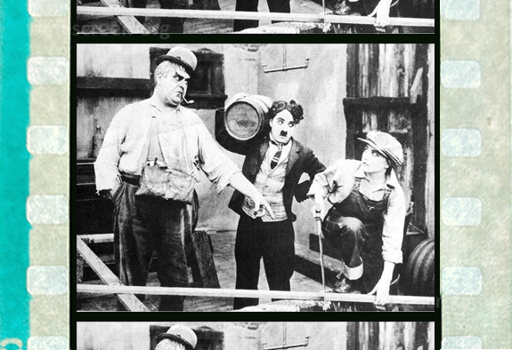 Silent film example - 35mm flat, 4 perf