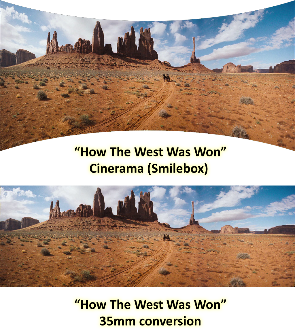 Cinerama example of 'How the West Was Won'