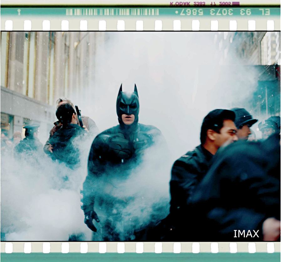 IMAX 70m frame from 'The Dark Knight Rises'