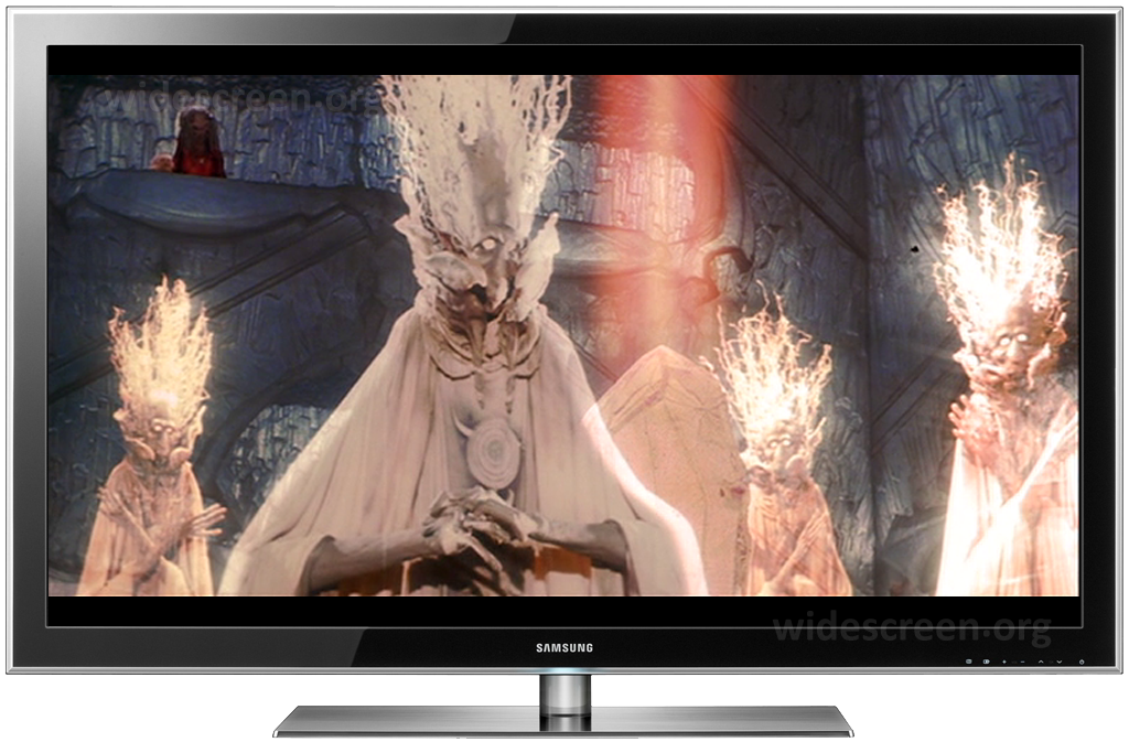'The Dark Crystal' properly shown on a 16:9 TV