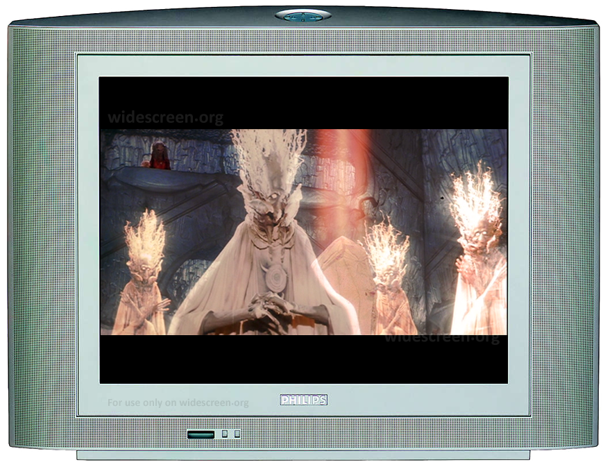 'The Dark Crystal' properly shown on a 4:3 TV