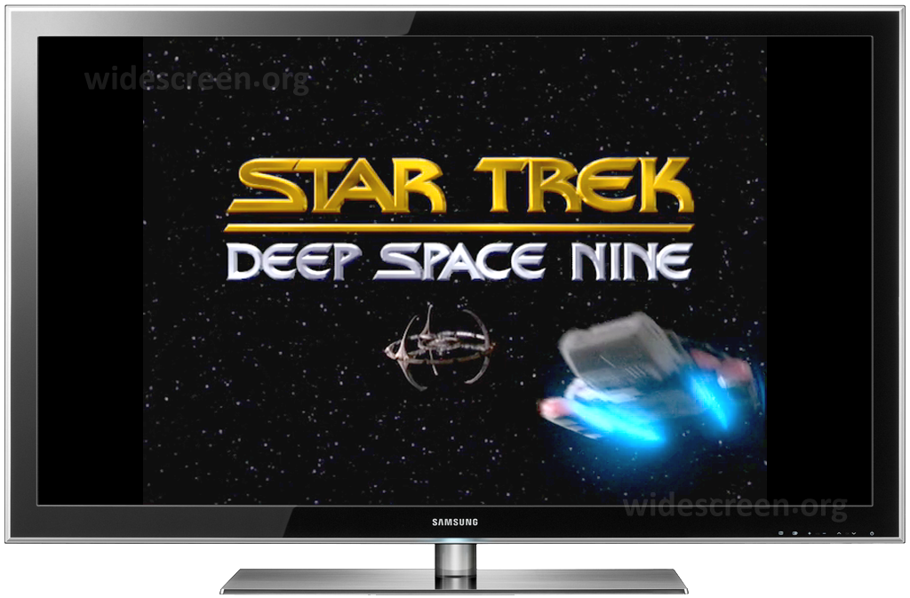 'Deep Space Nine' properly shown on 16:9 TV